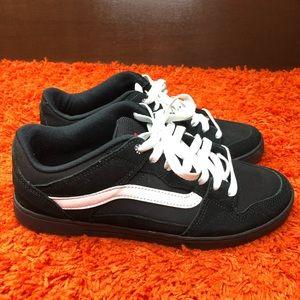 Vans Baxter BMX Shoes Gentlemen Black/White 10.5
